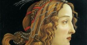 Sandro Botticelli -Riratto di giovane donna - 1480 - Francoforte