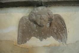 Innerpeffray Chapel: interior detail