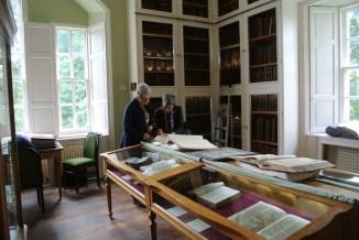 Innerpeffray Library: interior