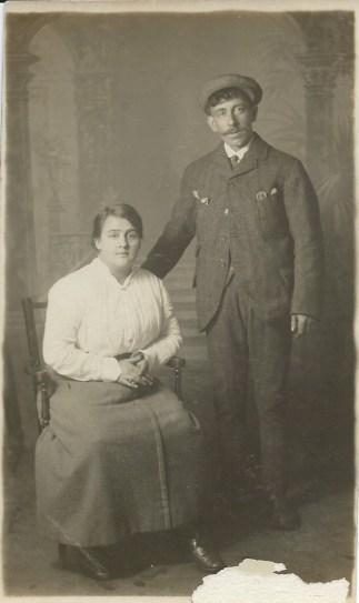 Meg and Donald McPhail c 1910