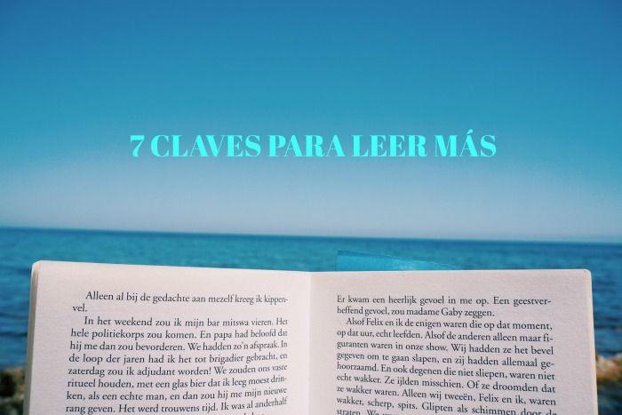 7 CLAVES PARA LEER MÁS
