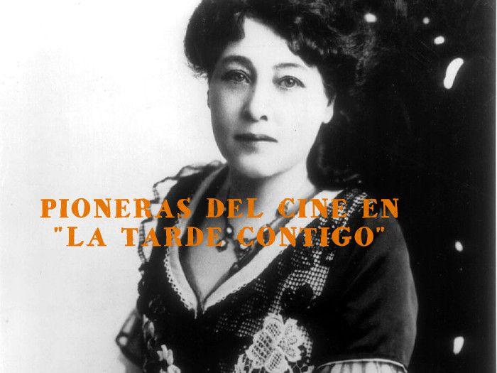 """PIONERAS DEL CINE EN """"LA TARDE CONTIGO"""""""