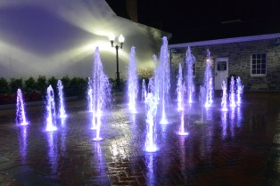Loudon Street by night
