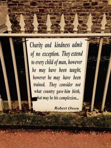 Robert Owen's words