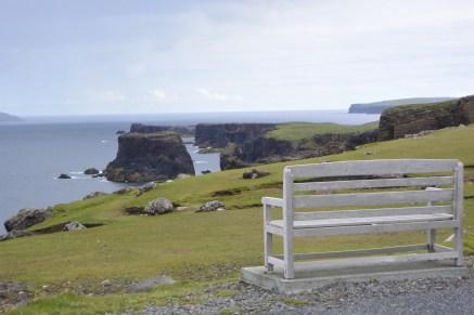 Eshaness bench