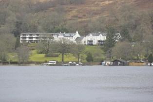 Forest Hills across Loch Ard