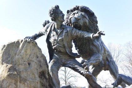 Livingstone and the lion