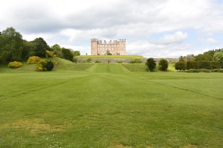 Castle from the lawns