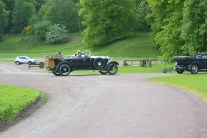 Old cars at Drumlanrig