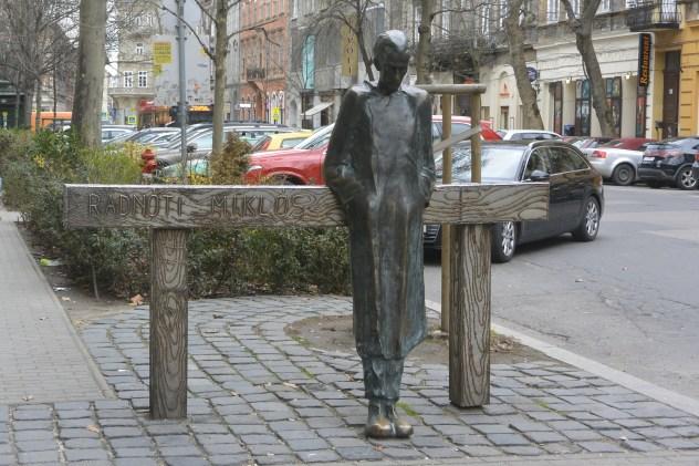 Miklós Radnóti statue