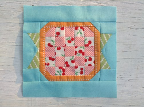 Cherry Pie Block / Anabélula