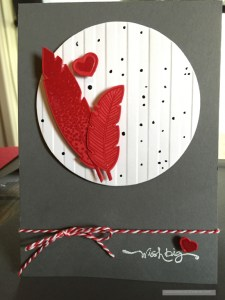 Lee Scott, Stampin Up Card Making, Four Feathers Stamps and Dies, Lee Scott©