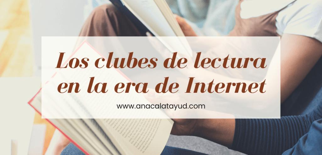 Los clubes de lectura en la era de Internet