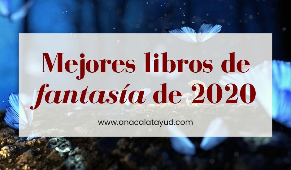 Mejores libros de fantasía de 2020