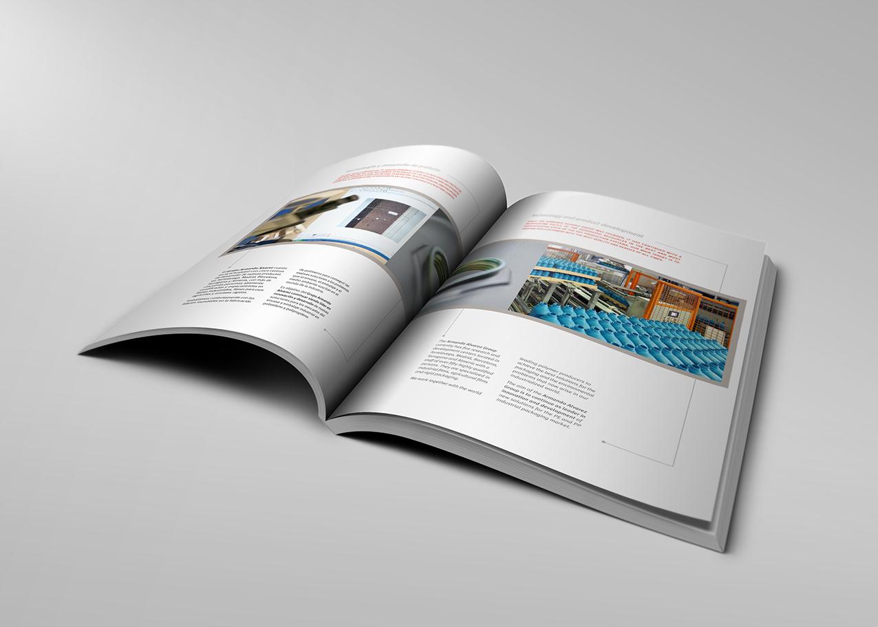 Diseño folletos y catálogos   © anacarrión   Santander, Cantabria