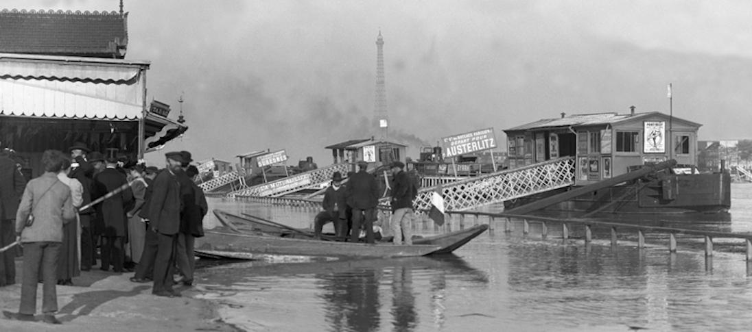 Paris – 1889 – La Seine à Passy