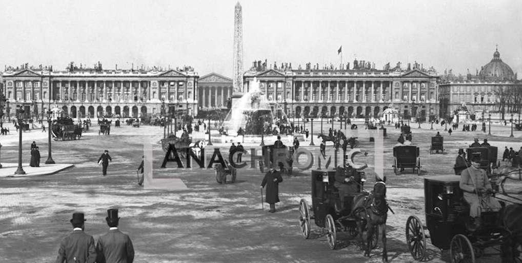 Paris – Place de la Concorde vers 1896