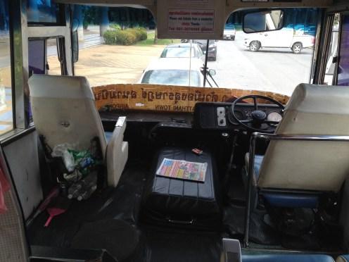 taka fura wiozła nas do Surat Thani