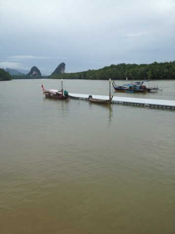 typowy krajobraz dla okolic Krabi (pagórki)