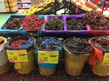 loooots of dried chilli