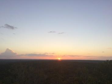 Nakbe sunset