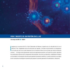 Diseño y maquetación folleto conferencias