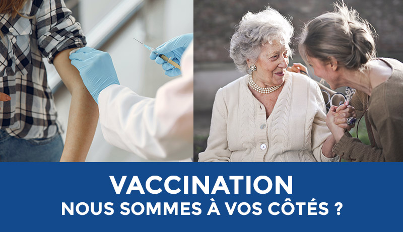 vaccination covid accompagnement médical