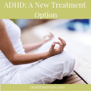 meditation an ADD woman