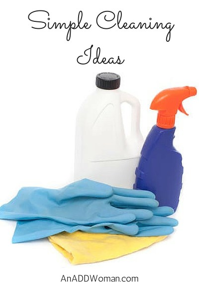 Simple Cleaning Ideas