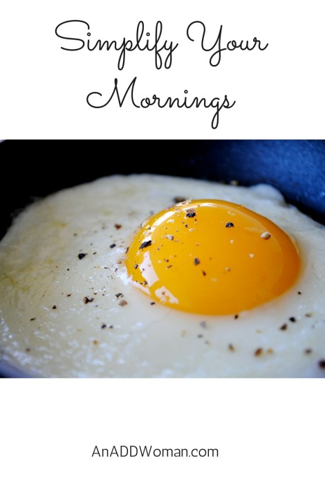 Simplify Your Mornings
