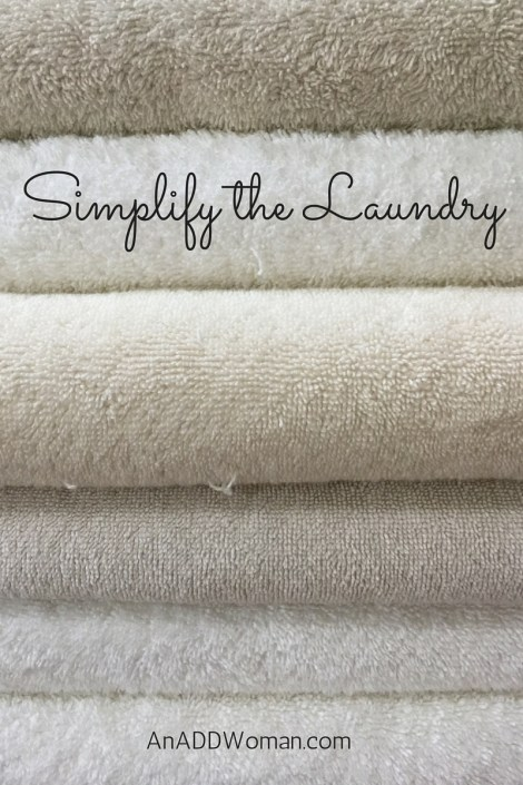 Simplify the Laundry