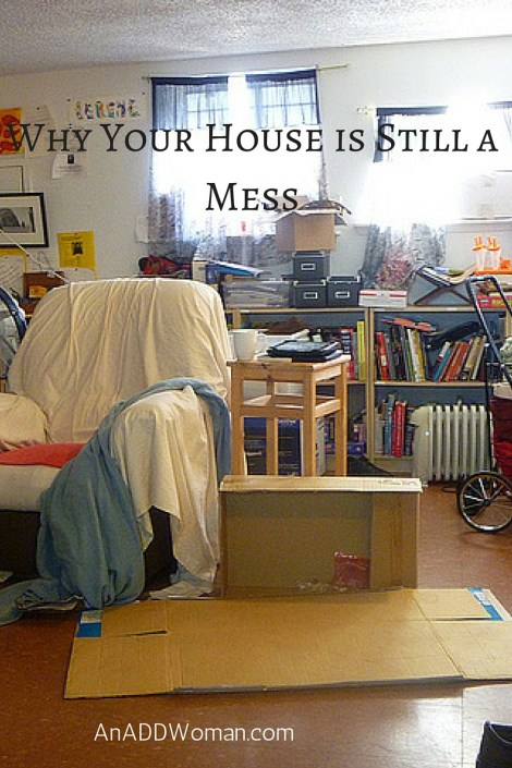 Why Your House is Still a Mess