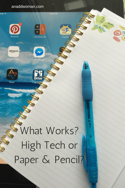 What Works? High Tech or Paper and Pencil?