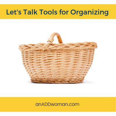 tools, organizing