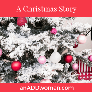 Christmas story an add woman