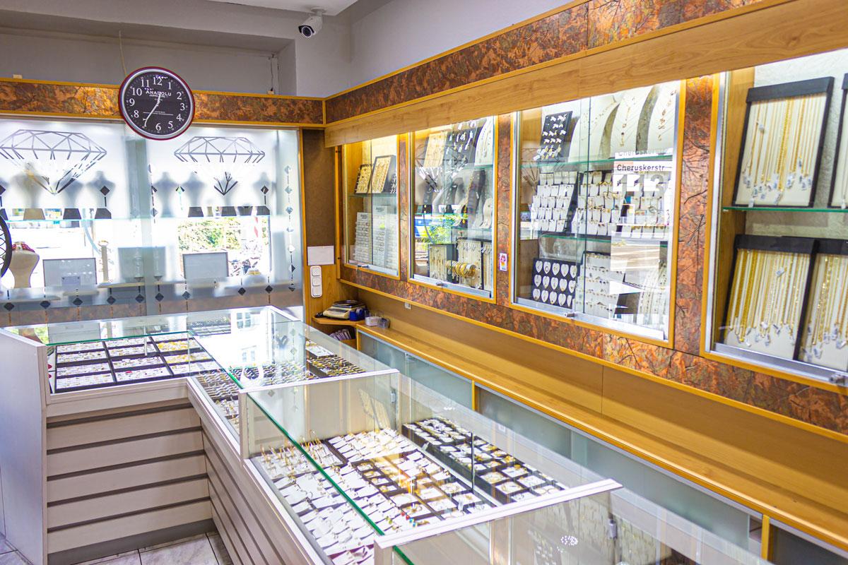 Juweliere in Düsseldorf: Faire Preise bei Anadolu.