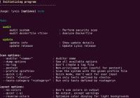 Lynis 2.2.0 yayınlandı-Linux sistemler için denetim ve Güvenlik Tarama Aracı