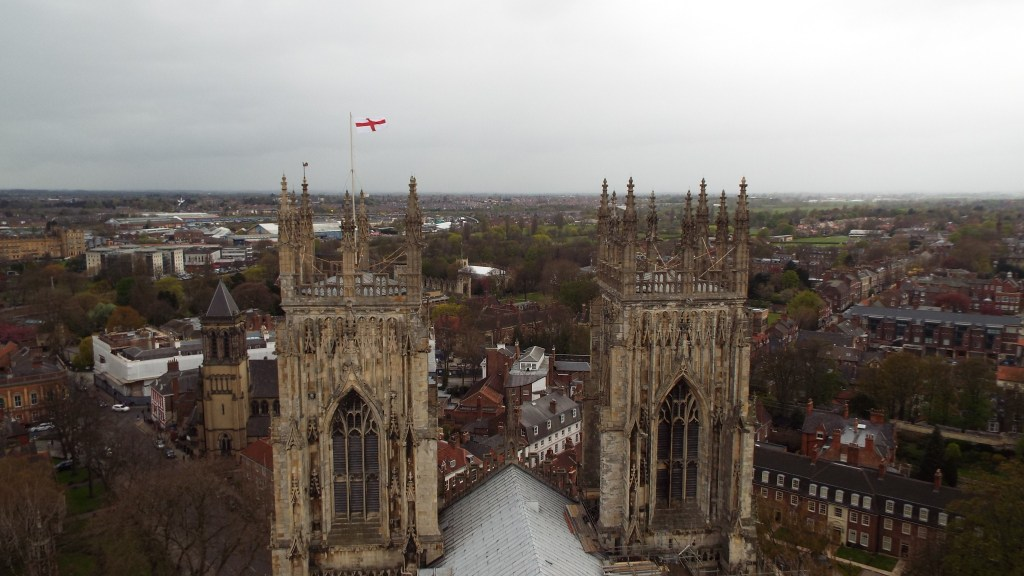 View of the towers from the top