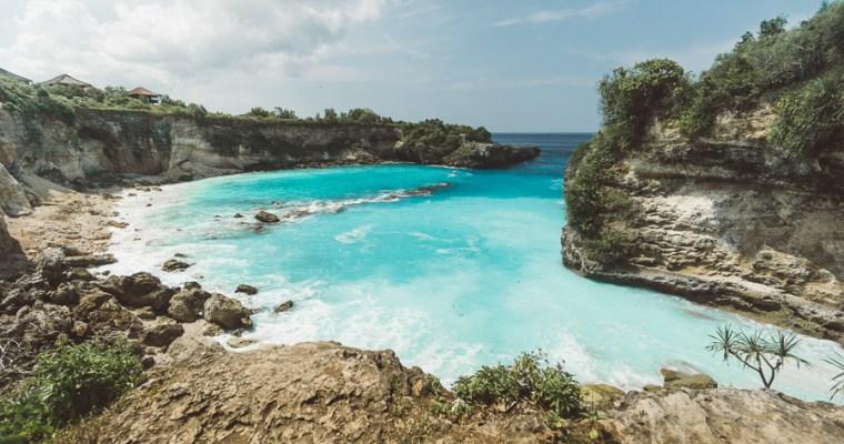 Blue Lagoon on Nusa Ceningan- Bali