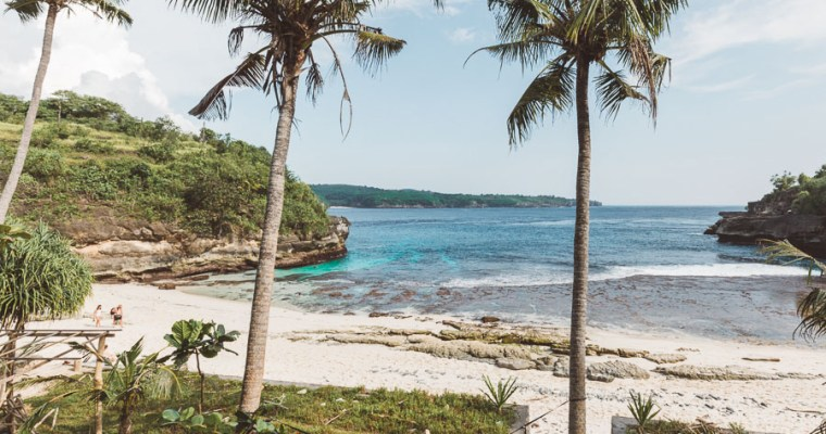 Secret Beach on Nusa Ceningan- Bali