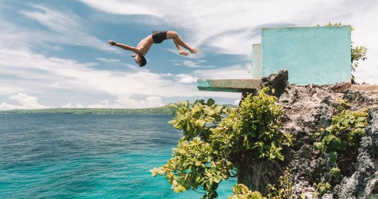 Cliff Jumping at Salagdoong Beach- Siquijor