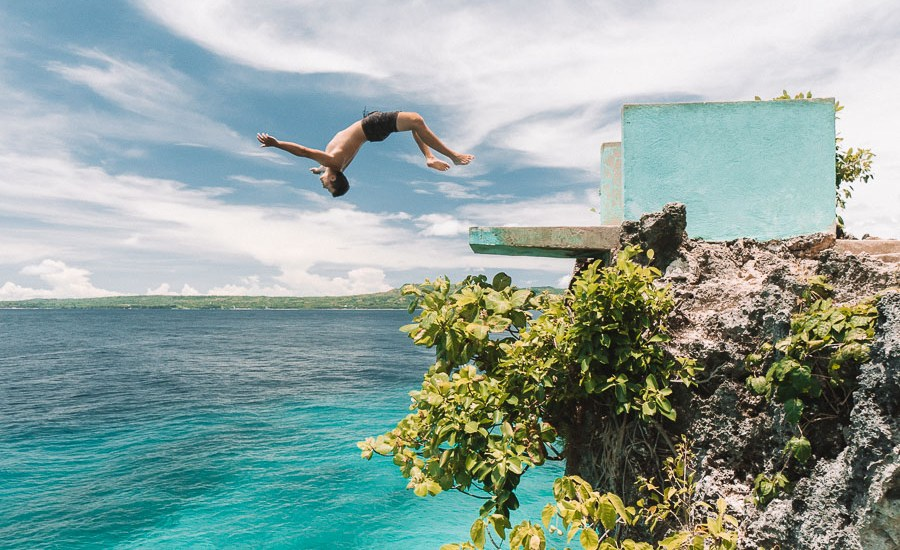Salagdoong Beach Cliff Jump_