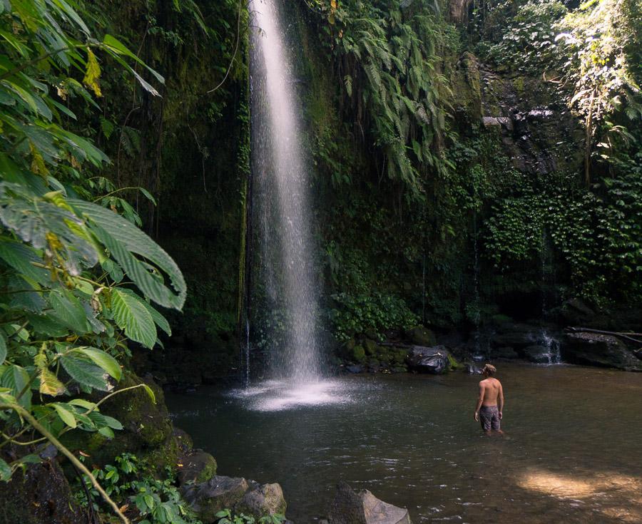 benang stokel waterfall benang kelambu waterfall lombok