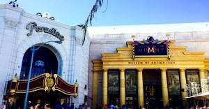 The Mummy ride at Universal Orlando
