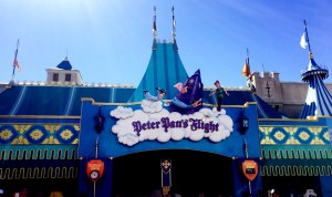 Peter Pan ride in Disney World