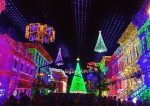 Osborne Lights at Disney World