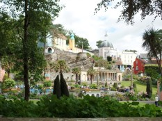A view of Portmeirion