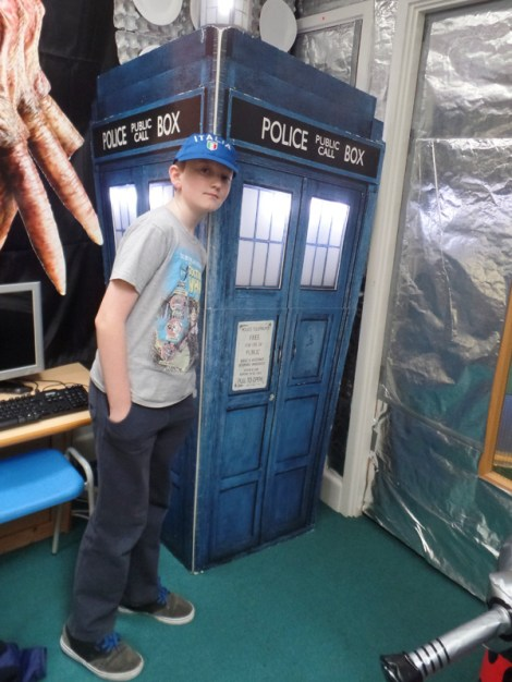 A TARDIS in a TARDIS at Dunbury Academy