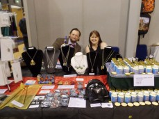 Dottie's Chartms at Film & Comic Con Bournemouth