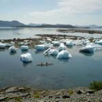 Surreal landscapes are par for the course in Prince William Sound, Columbia Glacier